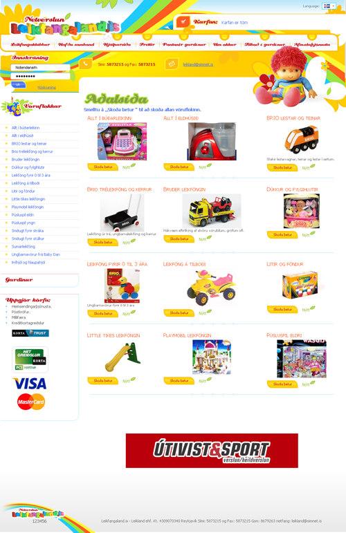 95b839204f75 Интернет-магазин детских игрушек www.leikfangaland.is